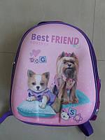 Ранец с собачками
