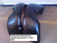 Подкрылки на Рено Кенго (передние) до 2008 г.