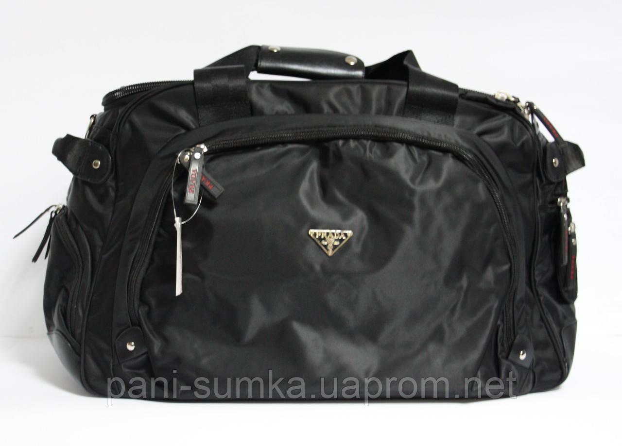 30578a1b85b8 Дорожная, спортивная сумка Prada 6741 текстиль  продажа, цена в ...