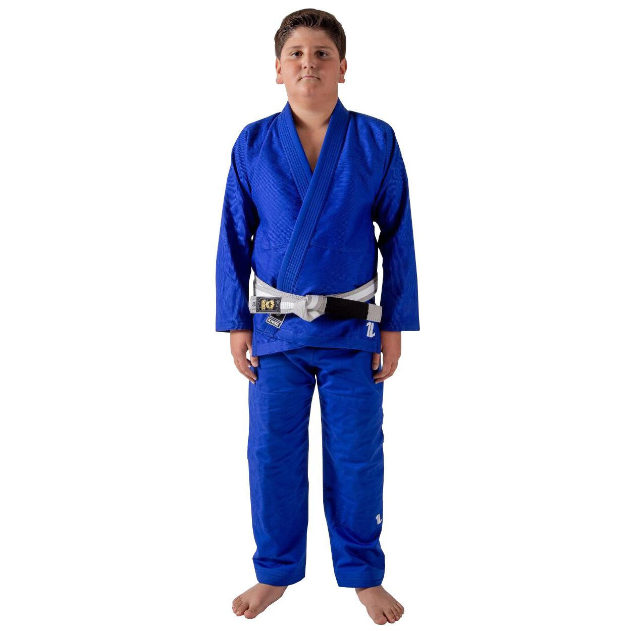 Детское кимоно для Джиу-Джитсу KINGZ The One Синее