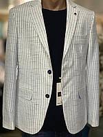 Стильний чоловічий піджак білого кольору Emilio Sagezza. Туреччина.