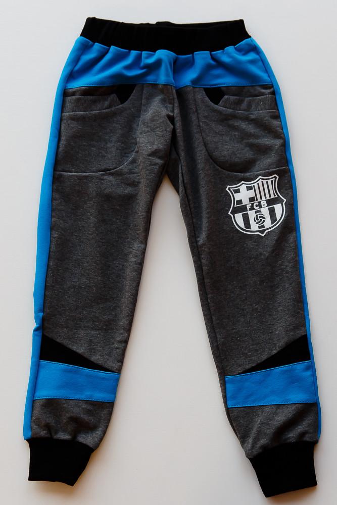 Детские спортивные штаны FCB   для мальчика в наличии 26. 28, фото 1