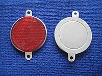 Катафот прицепа круглый красный