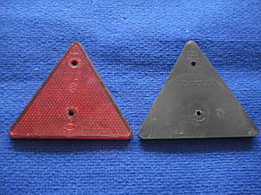 Катафот причепа відбивач червоний трикутний