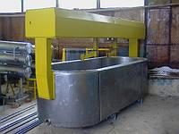 Ванна сыродельная Д7-ОСА-1, емкость – 2500 л для сыра