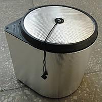 Встраиваемое кухонное ведро Starax 2252 (Турция) гофрированный алюминий 10 литров