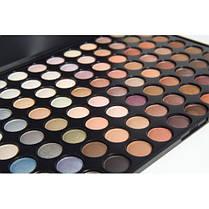 Тени для макияжа 88 цветов, теплые мерцающие. Палитра/палетка теней, фото 3