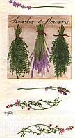 Декупажная салфетка Травы 4581