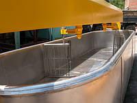 Ванна сыродельная В2-ОСВ-5, емкость – 5000 л з лирною мешалкой