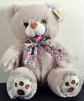 Мягкая игрушка Медведь с бантом 25см №7205-25 (Светлый),мягкие медведи,подарки для любимых девушек и детей