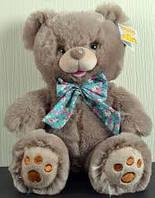 Мягкая игрушка Медведь с бантом 25см №7205-25 (Темный),мягкие медведи,подарки для любимых девушек и детей