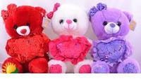Плюшевый мишка №2119-3,мягкие медведи,подарки для любимых девушек,отличные подарки