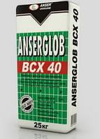 Клей Anserglob ВСХ 40 25 кг для приклеивания и защиты пенополистирольных плит