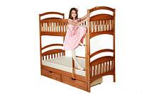 Акционный комплект двухъярусной кровати из дерева по ценам 2014 г