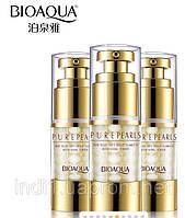 Крем для кожи вокруг глаз BIOAQUA Pure Pearls Essentials Eye Serum с экстрактом жемчуга (25мл)