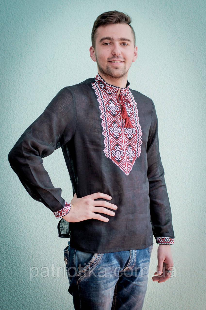 Мужская сорочка с вышивкой  c7dd34c145020