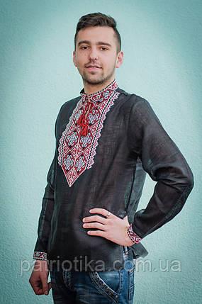 Мужская сорочка с вышивкой | Чоловіча сорочка з вишивкою, фото 2