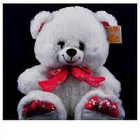 Мягкая игрушка Медведь с бантом 30см №4014-30,мягкие медведи,подарки для любимых девушек,отличные подарки