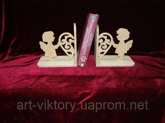 Подставка под книги пара с сердцем, декор, фото 2