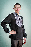 Мужская рубашка с вышивкой | Чоловіча сорочка з вишивкою, фото 1