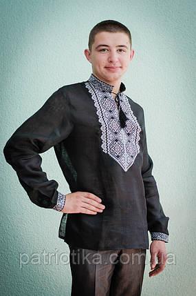 Мужская рубашка с вышивкой | Чоловіча сорочка з вишивкою, фото 2