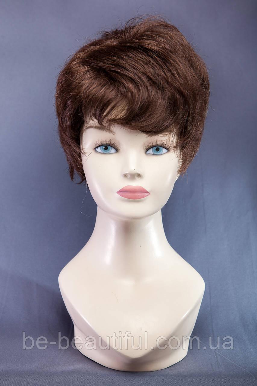 Короткие парики №3,цвет молочный шоколад