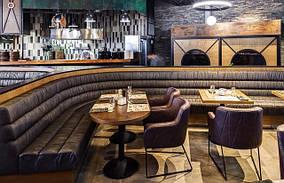 Угловые диваны для кафе и ресторанов