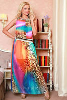 Платье летнее в пол Дана Медини 42-46размер