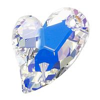 Swarovski подвеска сердце 17мм.Цвет Crystal AB