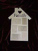 Фоторамка Family, декор