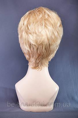 Короткие парики №3,цвет мелирование пшеничный с белым