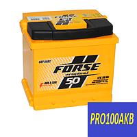 Автомобильный аккумулятор FORSE original 50 Ач 480 А (0) R+