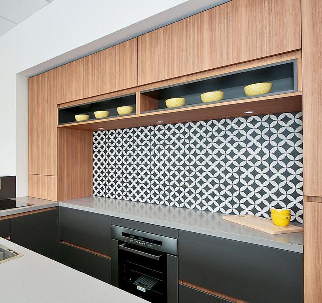 Кухонная столешница и остров из искусственного камня Caesarstone 4003 Sleek Concrete