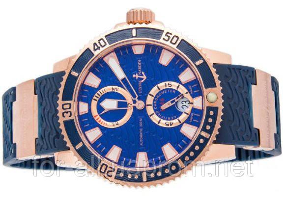 Копия часов Ulysse Nardin Maxi Marine Diver U039