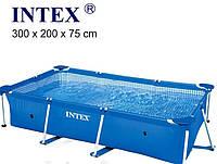Бассейн каркасный Intex 58981 (28272) размер (300х200х75 см)