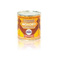 Молоко цельное сгущенное с сахаром и ароматом Ирисо-сливочный 8.5% ТМ Рогачев 380 гр