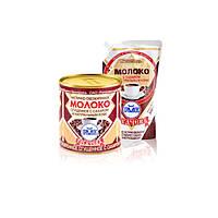 Молоко частично обезжиренное сгущенное с сахаром и натуральным кофе 7% ТМ Рогачев 380 гр