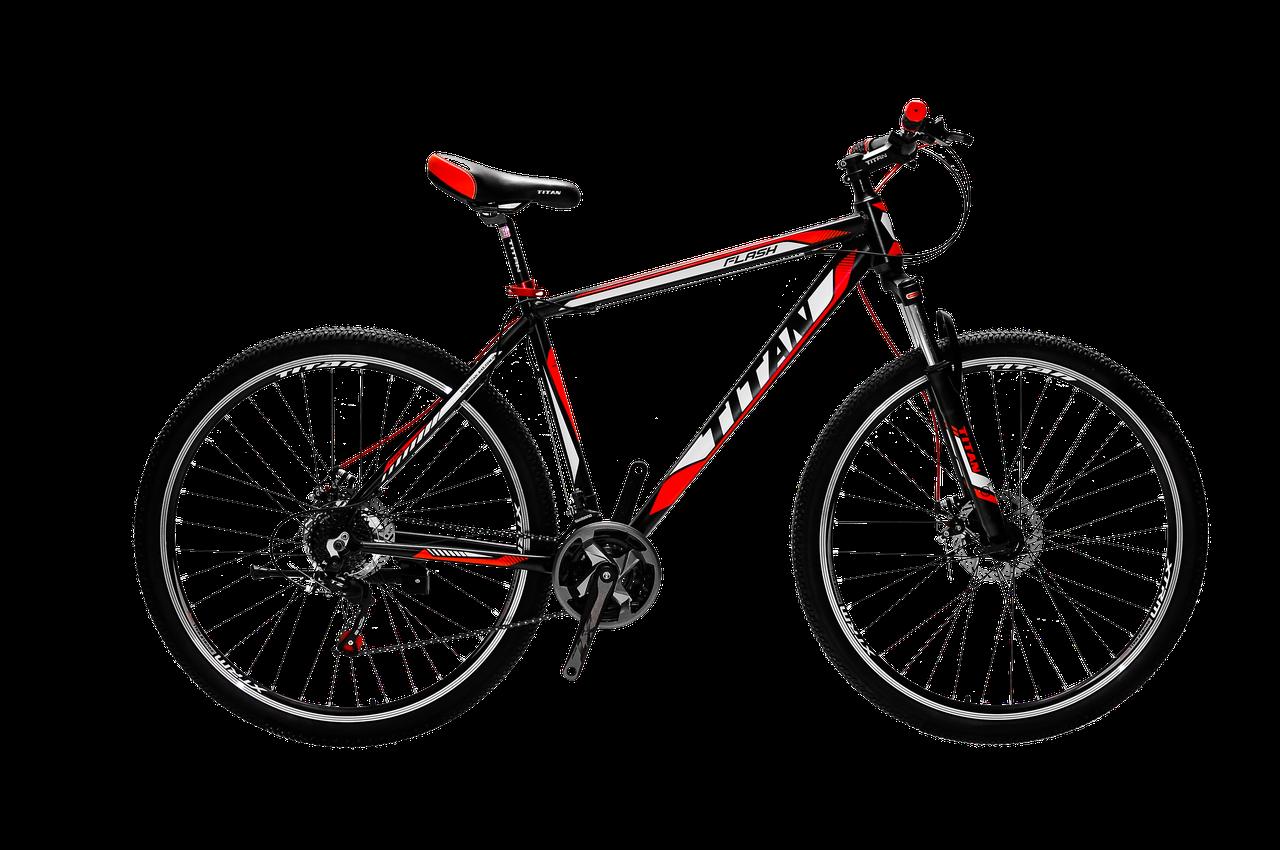 """Гірський велосипед найнер Titan Flash 29"""" 2018"""
