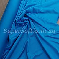 Трикотаж бифлекс блестящий голубая бирюза, фото 1