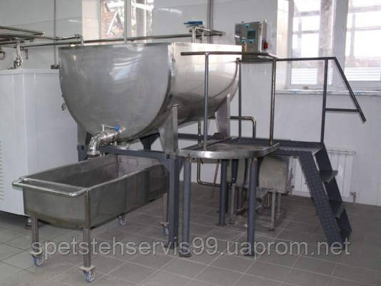 Ванна творожная ТО-1, ТО-2, ВК-2,5 для охлаждения и прессования готового творога