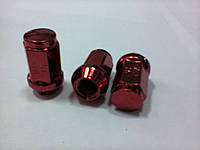 Гайка колеса G 8116 red 12x1.5,19 L35 RH тит./красная