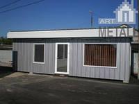 Модульные здания Днепропетровск, заказать модульный дом, проект модульного дома