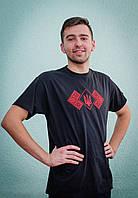 Вышитая футболка мужская | Вишита футболка чоловіча, фото 1