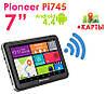 "GPS навигатор Pioneer Pi745i 7"" 8 Ядер  Android 4.4."