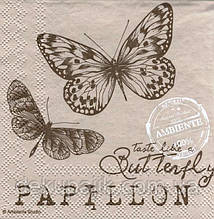 Салфетка декупажная Бабочки 4597