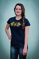 Вышитая футболка женская | Вишита футболка жіноча, фото 1