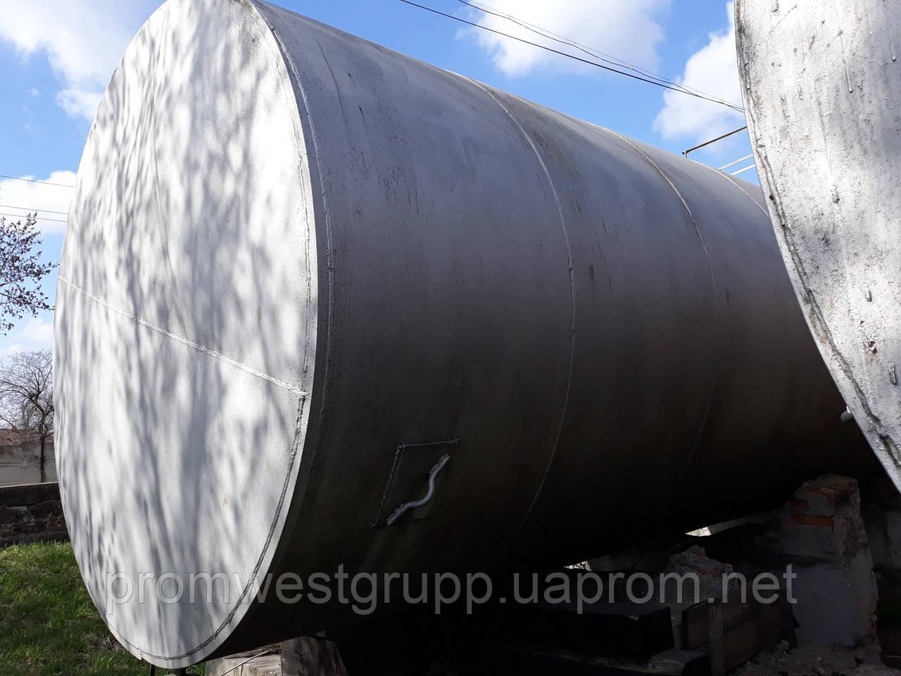 Емкость металлическая 50 м³