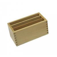 Ящик для карточек к геометрическому комоду (3 отделения)