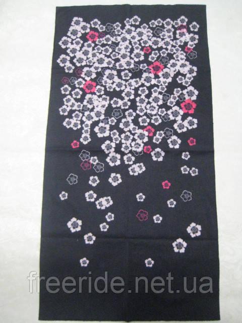 Летний бафф, buff, бесшовный шарф, повязка (#923)