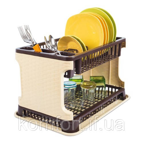 Сушка для посуды Rattan Tuffex TP-7071-1 #PO